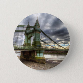 Hammersmith Bridge London Pinback Button