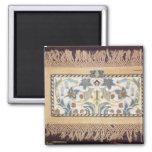 Hammersmith Rug', c.1880 2 Inch Square Magnet