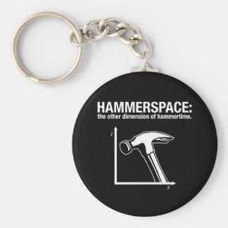 hammerspace: la otra dimensión de hammertime. llavero redondo tipo pin