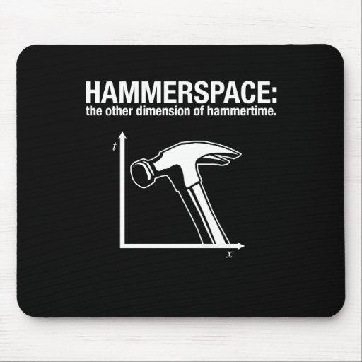 hammerspace: la otra dimensión de hammertime. alfombrillas de raton