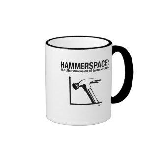 hammerspace: la otra dimensión de hammertime. taza a dos colores