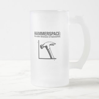 hammerspace the other dimension of hammertime coffee mug
