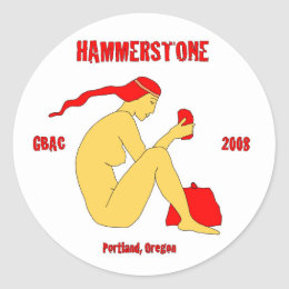 Hammerston Band Sticker