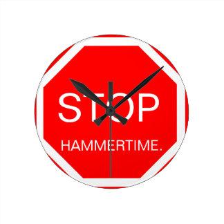 Hammertime Clock