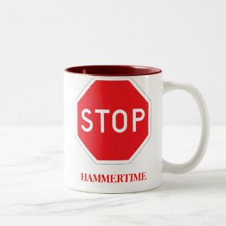 Hammertime Two-Tone Coffee Mug