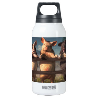 Hamming It Up Insulated Water Bottle