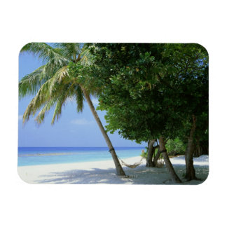 Hammock and Palm Tree Magnet