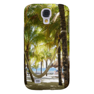 Hammock and Palm Trees Samsung Galaxy S4 Case