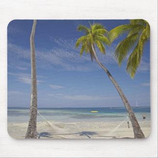 Hammock and palm trees, Plantation Island Resort Mousepads