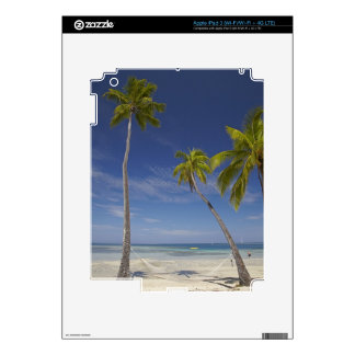 Hammock and palm trees, Plantation Island Resort Decals For iPad 3