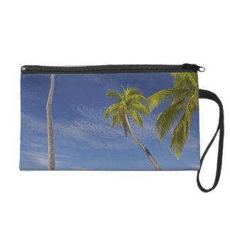 Hammock and palm trees, Plantation Island Resort Wristlet Purse