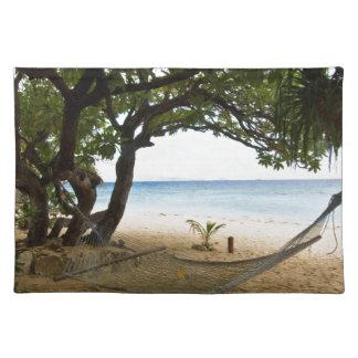 Hammock at South Sea Island, Fiji Placemat