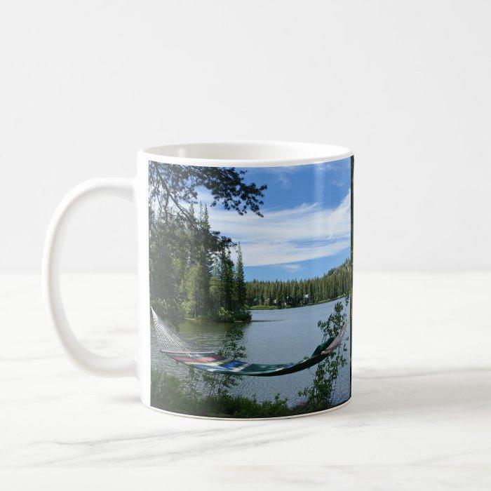 Hammock, Bench, Mountain Lake Mug