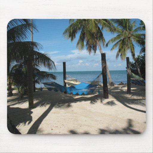 Hammock For One At The Keys Mouse Pad
