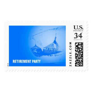 Hammock - Happy Retirement Party Postage