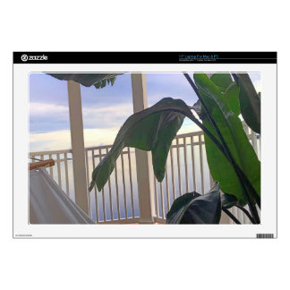 """Hammock In Paradise Decals For 17"""" Laptops"""