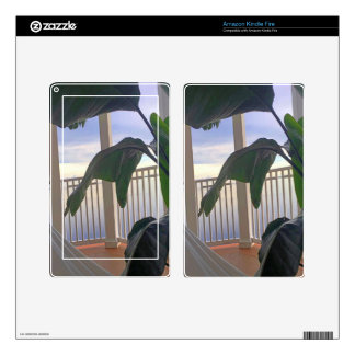 Hammock In Paradise Skins For Kindle Fire