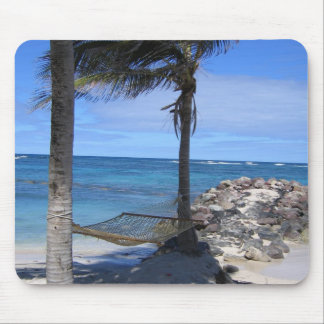 Hammock in St. Nevis Mouse Pad