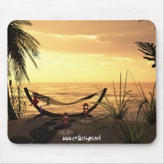 Hammock Sunset Mouse Pad