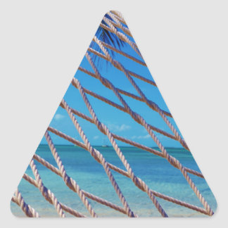 Hammock Time Triangle Stickers