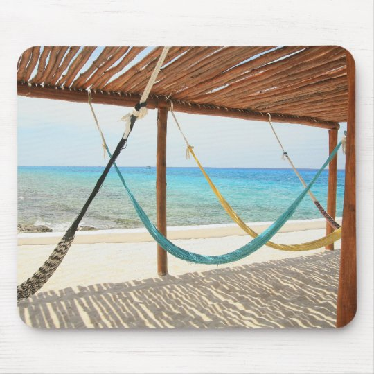 Hammocks in Cozumel Mouse Pad