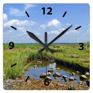 Hammonasset Beach Wall Clock
