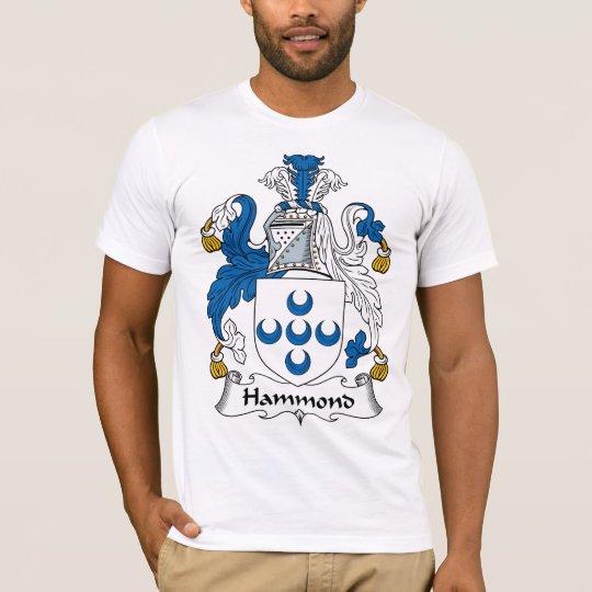 Hammond Family Crest T-Shirt
