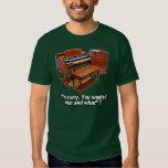 Hammond organ y camiseta de Leslie Polera
