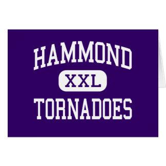 Hammond - tornados - joven - Hammond Luisiana Felicitacion