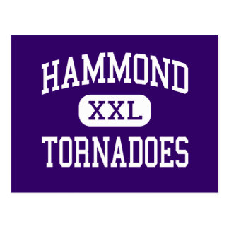 Hammond - tornados - joven - Hammond Luisiana Tarjeta Postal