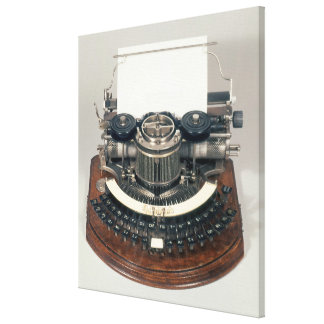 Hammond typewriter, with the ideal keyboard canvas print