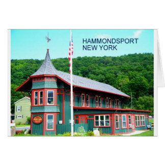 HAMMONDSPORT, NEW YORK CARD