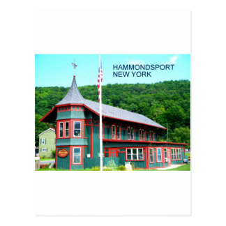 HAMMONDSPORT, NEW YORK POSTCARD