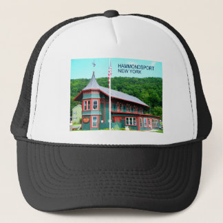 HAMMONDSPORT, NEW YORK TRUCKER HAT