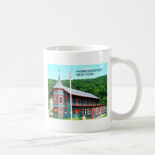 HAMMONDSPORT, NUEVA YORK TAZA DE CAFÉ