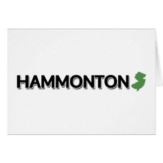 Hammonton, New Jersey Card