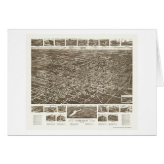 Hammonton, NJ Panoramic Map - 1926 Card