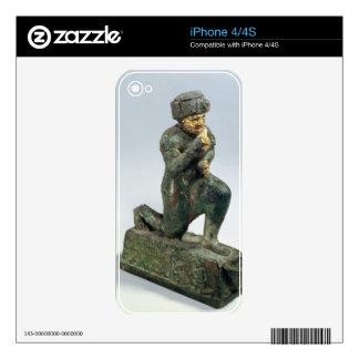 Hammurabi, rey de Babilonia, rogando antes de un s iPhone 4S Calcomanías