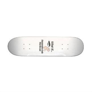 Hammurabis Code Skateboard