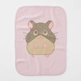 Hammy Hamster Burp Cloth