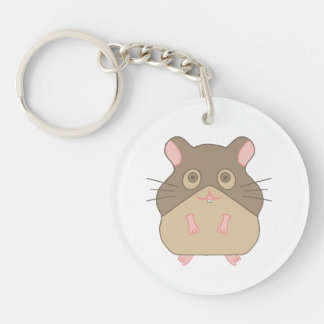 Hammy Hamster Keychain