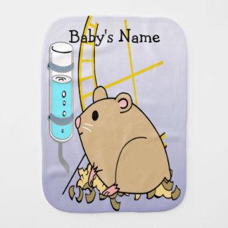 Hammy the Hamster Cute Baby Burp Cloth
