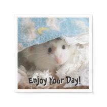 Hammyville - Cute Hamster Napkin