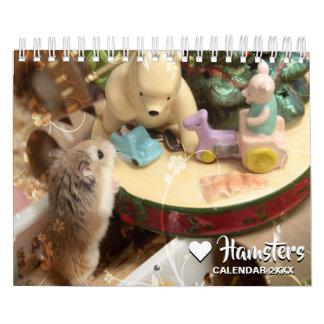 Hammyville - Light and Floral Calendar