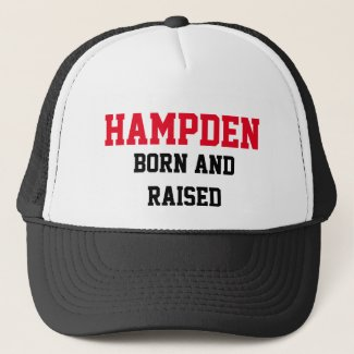 Hampden Born and Raised Trucker Hat