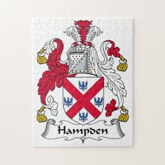 Hampden Family Crest Puzzle