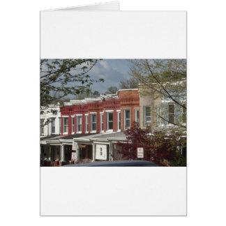 Hampden Rowhouses Card