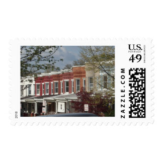 Hampden Rowhouses Postage Stamps