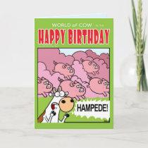 HAMPEDE! CARD