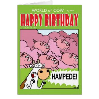 HAMPEDE! GREETING CARD